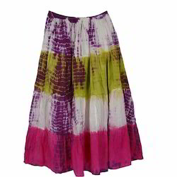 Cotton Ladies Long Skirt