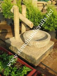 Teak Stone Fountain, For Office, Size: Height-27