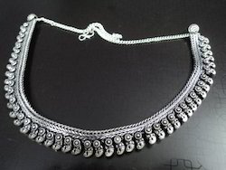 White Metal Trendy Necklace