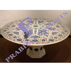 Inlaid Marble Table