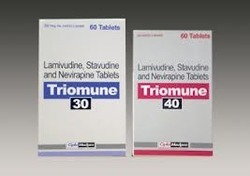 Triomune 30 mg 40 mg Tablet