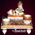 Marble Chowki Gopal Statue