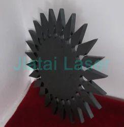 Laser Cutting On Mild Steel