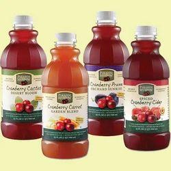 Juice Bottle Label