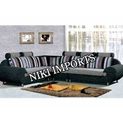 Corner S S Sofa Set - Fabric