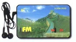 Credit Card FM Radio