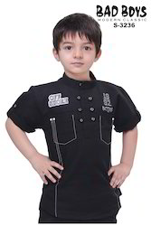 Kids Black Shirts