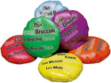 Multicolor Gisco Food Bean Bags