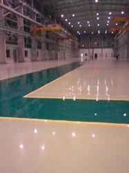Self Leveling Epoxy Flooring, Commercial Building