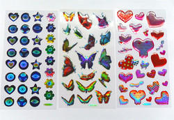 Multi colour Dome Sticker