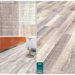 Rugged Oak Laminated Wooden Flooring