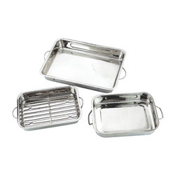 Stainless Steel Baking Trays