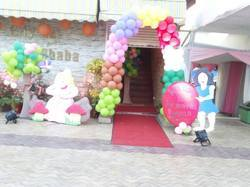Outdoor Event Decoration