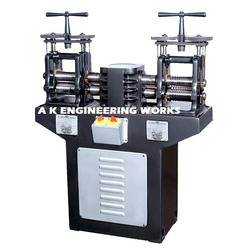 Double Head Jewellery Rolling Mill Machine