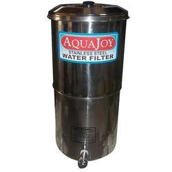 kiran Suction Filters SS Gravity Water Filter, For Industrial, Automation Grade: Manual