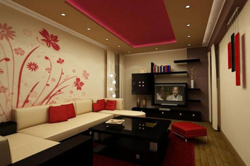 Modern Living Room Interior Designers In Delhi U0026 NCR