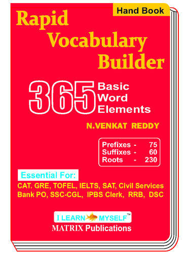 Rapid Vocabulary Builder Hand Book