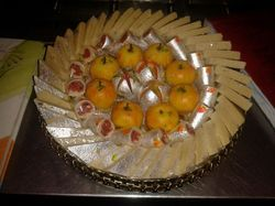Sagar Sweets Special (Kaju Apple Sweets)
