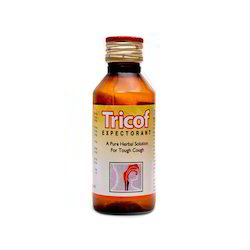 Tricof Expectorant Cough Syrup, Packaging Type: Plastic Bottle
