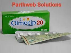 Benicar Tablets, Olmecip (Olmesartan Medoxomil Tablets)
