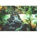 Black Garden Waterfall