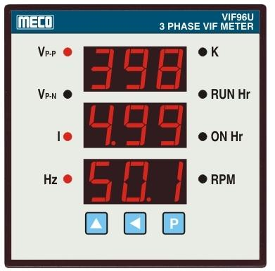VAF - View Specifications & Details of Vif Meter by MECO Instruments