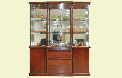 Crockery Unit Wooden Crockery Unit Manufacturer From