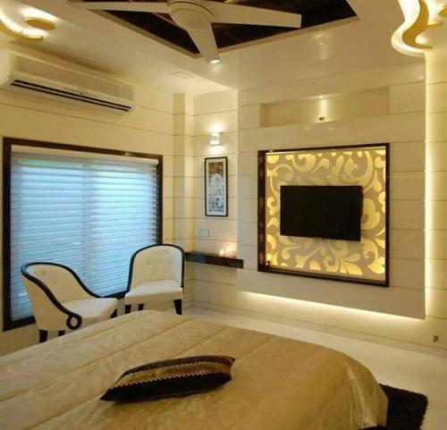 TV Unit Bedroom Interior Design