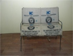 Iron Recycled Bench