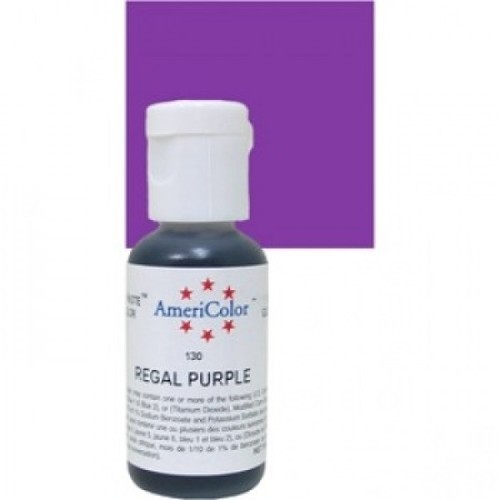 Americolor Regal Purple Icing Colour Gel Paste Color