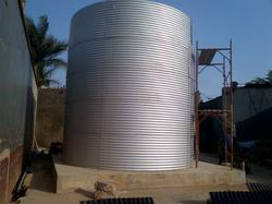 Zinc- Aluminium Complete Civil work with Installation Compact Sewage Treatment System, Automation Grade: Fully Automatic