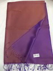 Pure Silk Plain Weave Reversible Shawls