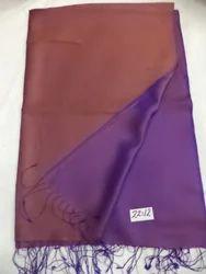 Pure Silk Plain Weave Reversible Shawls