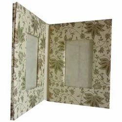 Floral Print Photo Frames