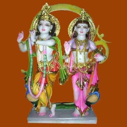 Marble Radha Krishna Statue - Radha Krishna Statue Exporter from Jaipur