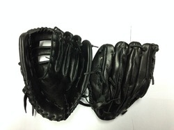 Base Ball Gloves in Buff Leather