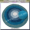 Cotton Hand Knotted Rug