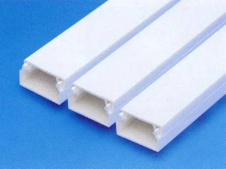 steel pvc conduit trunking size 38 x 20 gold 50 x 20 gold id rh indiamart com outdoor wiring pvc conduit wiring plastic conduit