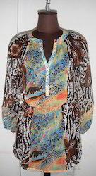 Polyester Ladies Tunic