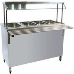 Stainless Steel Bain Marie Four Compartment