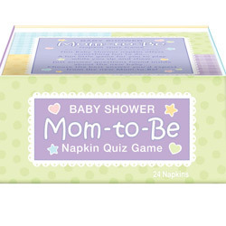 Baby Shower Napkin Trivia Game 24ct Baby Shower Wanna Party