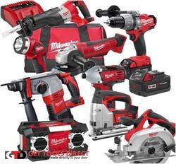Milwaukee Power and Battery Operated Tools