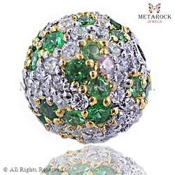 Emerald Gemstone Ball Design Finding