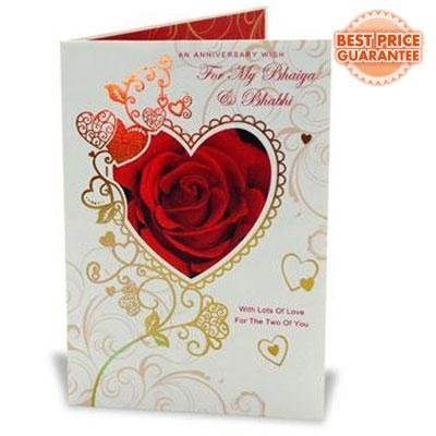 Greeting cards first anniversary card service provider from anniversary card m4hsunfo
