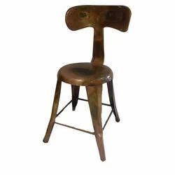 44W*46SH*93H Iron Chair