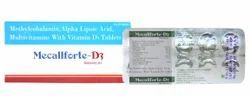 Methylcobalamin ALA Vit. D3 Folic Pyridoxine Thiamin Tablet