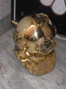 Vintage Specially Destined Antique Deep Sea Diving Helmet