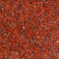 Ruby Red Granite Slab