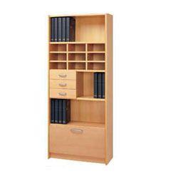 Books Wooden Storage