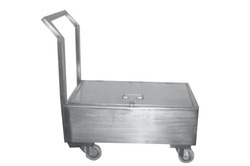 SS Weight Box Trolley